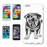 Reifen-Markt Hard Cover - Funda para teléfono móvil Compatible con Samsung Galaxy S3 Mini Perros Cachorros cría de Perros de la casa Perros Perrera DE CRIADORES DE