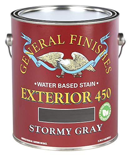 General Finishes Exterior 450 Water Based Wood Stain, 1...