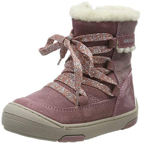 Geox Baby Mädchen B JAYJ Girl C Stiefel, Dk Pink C8006, 24 EU
