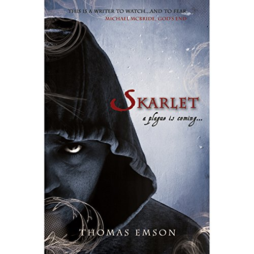 Skarlet audiobook cover art