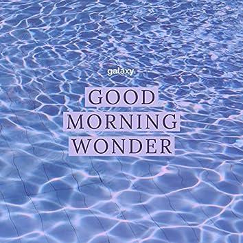 Good Morning Wonder