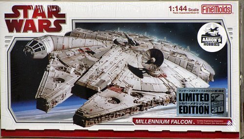 Fine Molds 1/144 Chrome Plated Stars Wars Millennium Falcon (Limited Edition) by Fine Molds