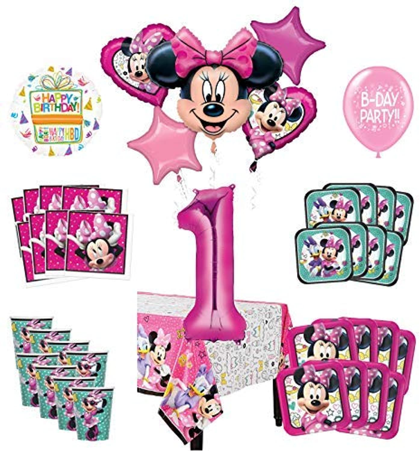 Miraculous Mayflower Products Minnie Mouse And Friends 1St Birthday Best Image Libraries Sapebelowcountryjoecom