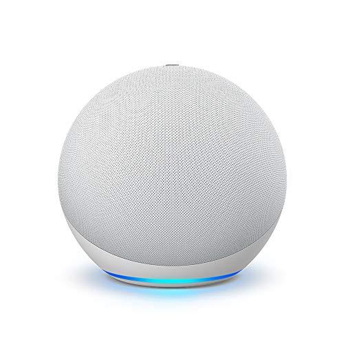 Nuevo Echo (4ta Gen) - Con sonido de alta calidad, hub de Casa Inteligente y Alexa - Blanco