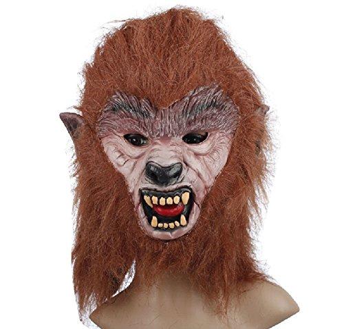 Blancho Le Loup-Garou Masque fête d'halloween Masque Mascarade Masque Masque de Cosplay