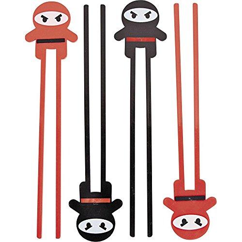 Fun Express BB13629218 Ninja Plastic Chopsticks