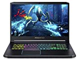 "Acer Predator Helios 300 Gaming Laptop PC, 17.3"" Full HD 144Hz 3ms IPS Display, Intel i7-9750H, GeForce GTX 1660 Ti 6GB, 16GB DDR4, 512GB NVMe SSD, RGB Backlit Keyboard, PH317-53-7777"