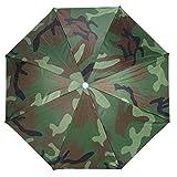 Fdit Camouflage Couleur Parapluie Chapeau De Pêche Chapeau De Soleil Enfants et Adultes pour Activité en Plein Air Randonnée Pêche Camping Festival Party Use Chapeaux Parapluie
