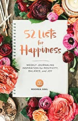 52 Lists for Happiness: Weekly Journaling Inspiration for Positivity, Balance, and Joy Diary on Amazon