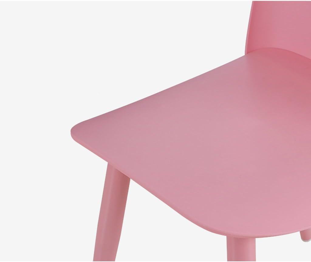 XXT-Chaise de Salle à Manger Minimaliste Moderne Chaise de Bureau à Domicile Adulte Durable (Color : C) E