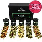 Hallingers 5er Tee-Geschenk-Set Kräutertee & Detox-Tee - Kraftvolle Kräuter -