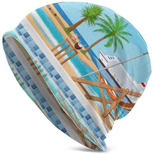 TABUE - Sombrilla de madera para piscina, diseño de calavera
