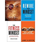 The Secret [Hardcover], Rewire Your Mindset, The Fitness Mindset, Meltdown 4 Books Collection Set