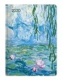 Ladytimer Monet - Taschenkalender A6 - Kalender 2020 - Alpha Edition-Verlag - Eine Woche auf 2 Seiten - Buchplaner mit Lesebändchen und Platz für Notizen - Format 10,7 cm x 15,2 cm