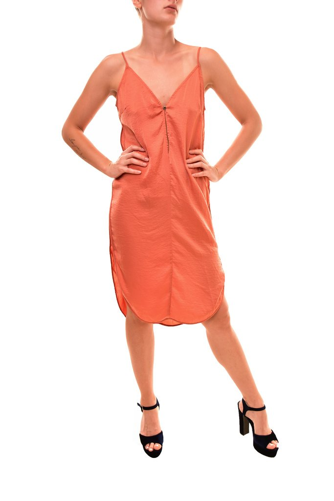 Available at Amazon: Finders Keepers Women's Sleeveless Marco Dress Saffron Size S