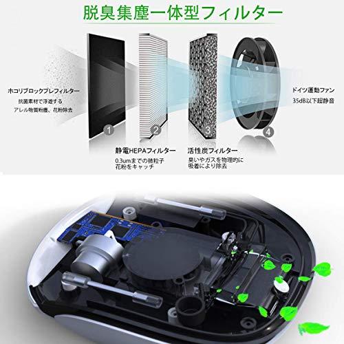 車用空気清浄機最新スマート空気清浄機エンジン状態より自動清浄三つスマートモードソーラー/USB給電アロマ使用でき超静音イオン発生器シガーソケット付複合型HEPAフィルタータバコ花粉アレル物質PM2.5対策