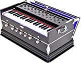 SG Musical Harmonium- 3 1/4 Octave, Double Bellow, 39 Keys,7 Stopper, 2 Reeds (Bass- Male), With Cover