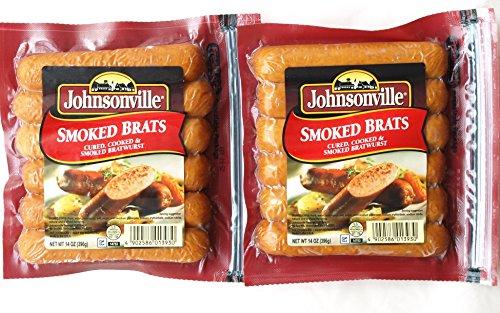 #561940 ジョンソンヴィル JOHNSONVILLE スモークブラッツ ポークソーセージ 396g×2袋(6本×2袋=計12本)