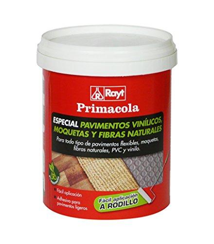 Rayt 1273-09 Primacola C-20 Rodillo. Adhesivo acrílico Especial para pavimentos Flexibles: PVC, moquetas, revestimientos Textiles, Vinilo y Fibras Naturales. SIN disolventes, 1kg