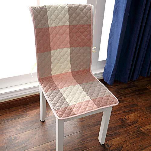 XHNXHN Juego de 6 cojines de algodón siamés para silla de comedor, no deslizantes, para decoración de interiores y exteriores, para el hogar, cojín largo de banco rojo, 40 x 130 cm x 6