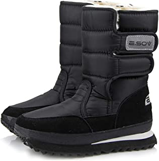 XIANV Women Snow Boots Anti-Slip Soles Waterproof Non-Slip Warm Padded Shoes