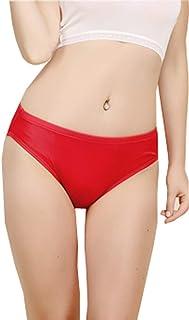 METWAY Women's Silk Underwear L-rise Mulberry Silk Panties