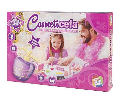 Cefa Toys- Cosmeticefa, crea tus perfumes y esmaltes (21830)
