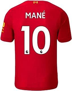 New Season 2019/2020 Liverpool Home 10 Mane Mens Socce Jersey