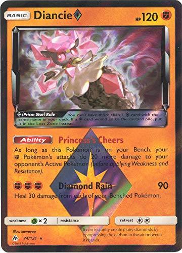 Diancie Prism Star - 74/131 - Holo Rare Prism Forbidden Light