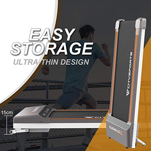 CITYSPORTS-Folding-Motorised-Treadmill-400W-Motor-Adjustable-Speed-LCD-Screen-Folding-walking-treadmill-for-Home-and-Office