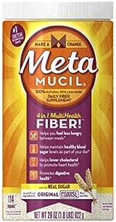 Metamucil Original Coarse Powder 114 Teaspoons