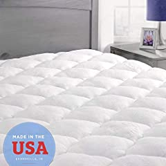 """SIZE & DESIGN - Queen Mattress Pad 