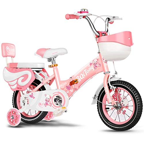 LLF Bicicleta Infantil Niños Bicicleta For Niña 2-12 Años Una Persona Niños,...