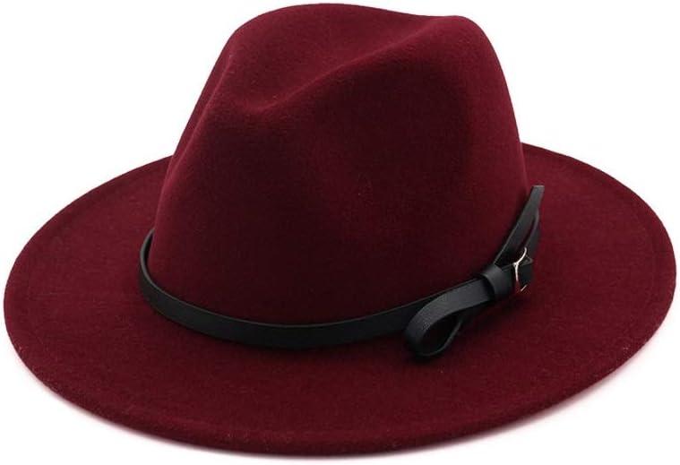 Women Men Fedora Hat Wool Fasci Finally Free shipping on posting reviews popular brand Church Brim Pop Wide
