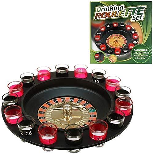 Kingdiscount 10 Stück Trinkspiel Schnaps-Roulette