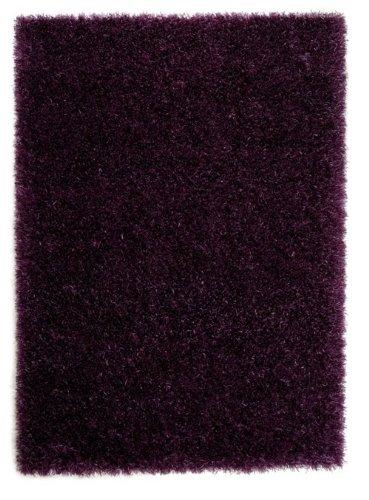 Schöner Wohnen Shaggy Teppich Feeling violett 070x140 cm