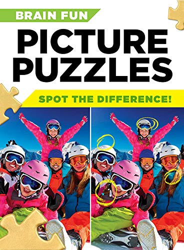 Brain Fun Picture Puzzles: Spot the Differences!
