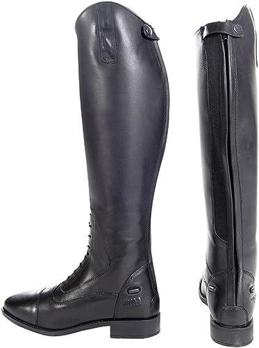 HKM Bottes d'équitation pour Gérone-Largeur de Longueur Standard -
