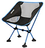 MARCHWAY Ultralight Folding Camping Chair with Anti-Sinking Wide...