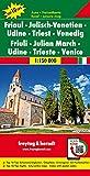 Friaul - Julisch-Venetien - Udine - Triest - Venedig, Autokarte 1:150.000, Top 10 Tips: Top 10 Tips - Laufzeit bis 2022 (freytag & berndt Auto + Freizeitkarten)