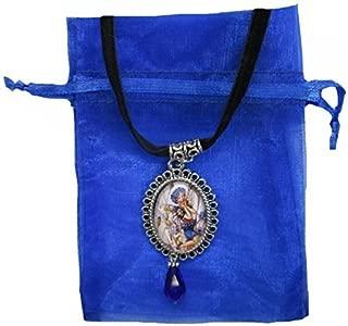 cornflower blue organza ribbon