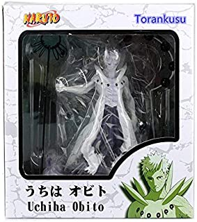 Fallhuoz Naruto Action Figures Uchiha Obito Rikudousennin PVC 250mm Model Naruto Shippuden Movie Anime Figure Obito N02