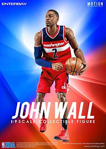 NBA Collection Motion Masterpiece Actionfigur 1/9 John Wall 23 cm Enterbay Basketball Figures