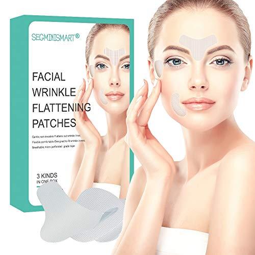 Facial Patches, Anti Aging Gesichts Anti-Falten-Patches, Anti-falten-pad, Stirn Falten Patches, Augen-Falten-Patches, Stirn Falten Pads, Faltenbehandlung Wiederverwendbare glättende Falten-Patches