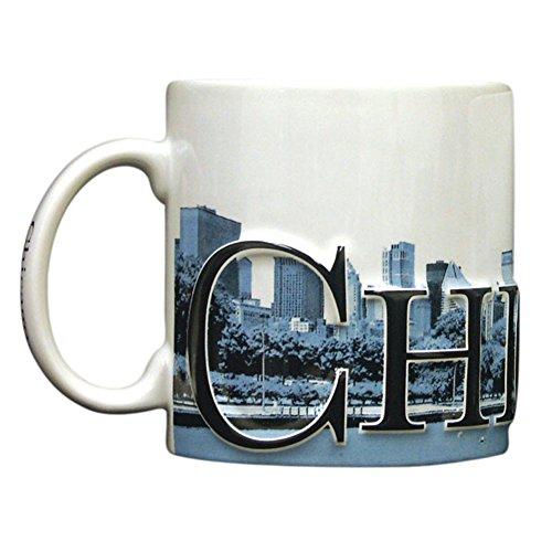 Americaware - City of Chicago Souvenir Ceramic Coffee Mug / Cup - 18oz