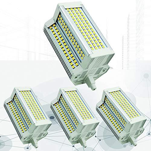 4X R7S Bombilla 118 mm LED 50W Fresco Blanco 6000K J118 Tipo Reemplazo de Bombilla Reflector de Doble Extremo 500W R7S Bombilla halógena para lámpara de iluminación