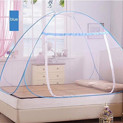 XIYAO Moskitonetz, Falten Anti Moskito Zelt für Heim Bett Kinderbett Große Camping Zelt Tragbare Reise Aufstehen Mesh Baldachin