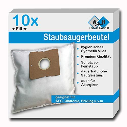 10 Staubsaugerbeutel geeignet für Base BA 4000 | BA4000