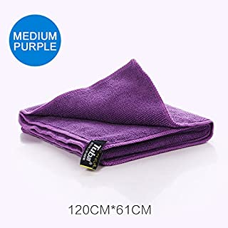 KUYOU Sport Travel Towel Microfiber Quick Dry Towel for Backpacking,Beach, Camping, Travel, Gym, Golf, Yoga, Swimming, Out...