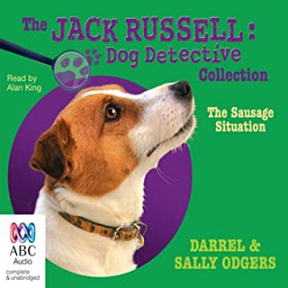 The Sausage Situation audiobook cover art